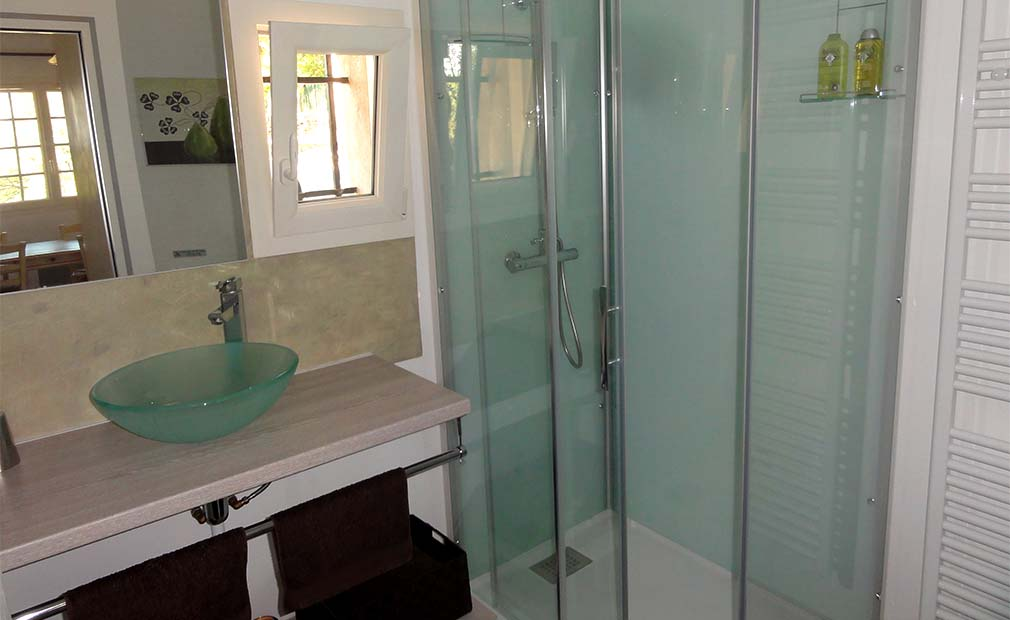 Salle de douche Suite n° 4