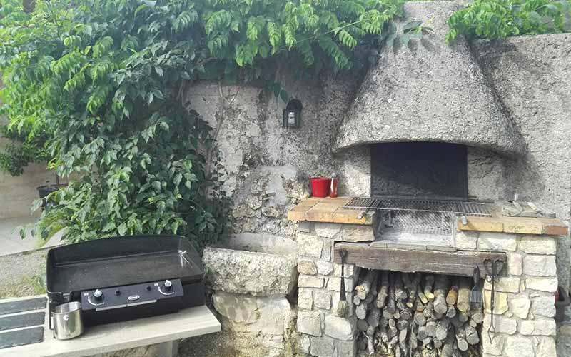 Barbecue, plancha du gite