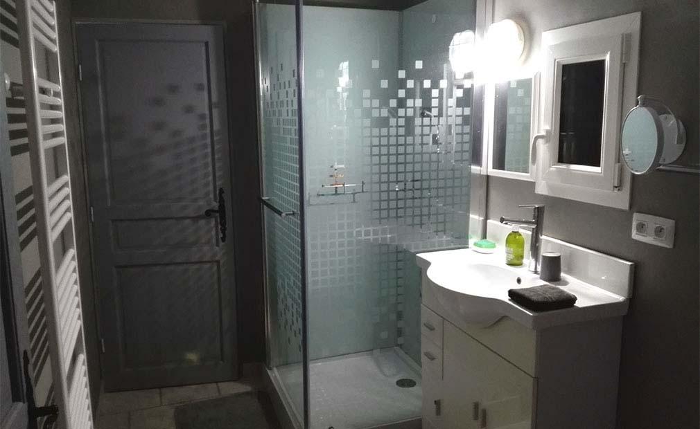 Salle de bain maison de vacances