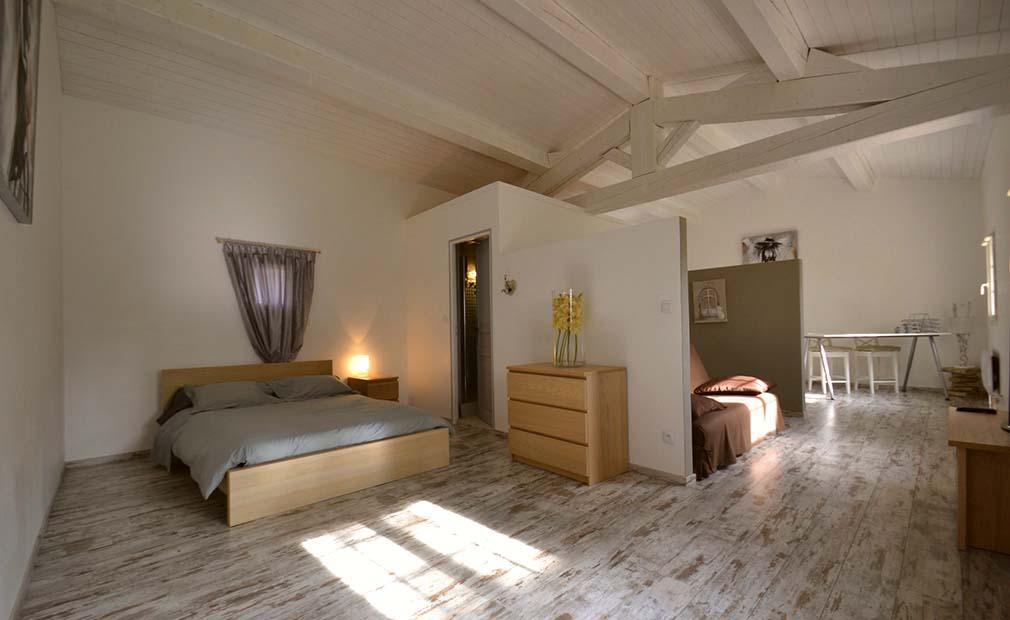 Chambre de la maison de vacances